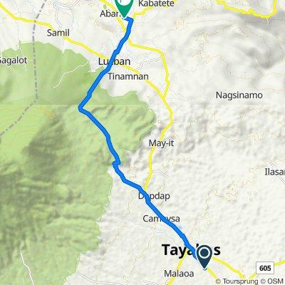 Rosal 265, Tayabas to Lucban - Luisiana Road