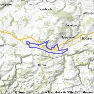 Gossau , Neuchlen, Abtwil, Bruggen, Winkeln