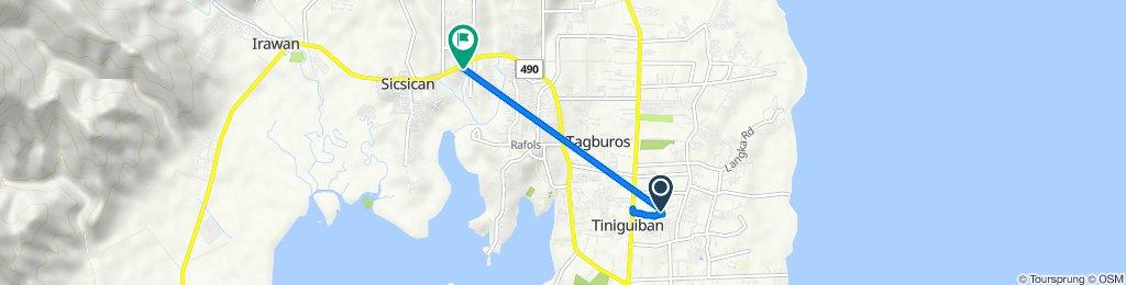 Unnamed Road, Puerto Princesa to Puerto Princesa South Road