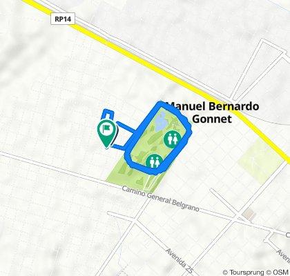 De Calle 19, La Plata a Calle 19 3702–3800, La Plata