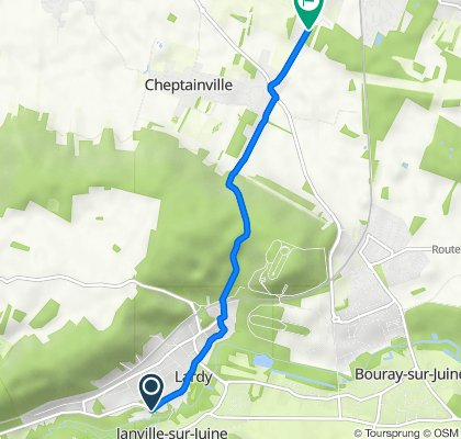 De 6 Grande Rue, Lardy à 65bis Route de Marolles, Cheptainville