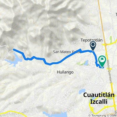 Libramiento Sur 2, Tepotzotlán to Cerrada Almendro 50–68, Cuautitlán Izcalli
