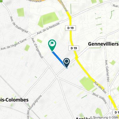 De 97 Rue du Ménil, Asnières-sur-Seine à 179 Rue du Ménil, Asnières-sur-Seine