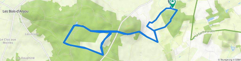 1 Itinéraire modéré en