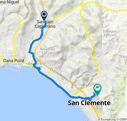31611 El Camino Real, San Juan Capistrano to 405 Avenida Salvador, San Clemente