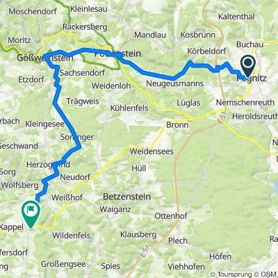 Jakobusweg Fränkische Schweiz