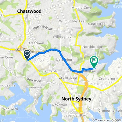 329–335 Pacific Highway, Artarmon to 55A Carter Street, Cammeray