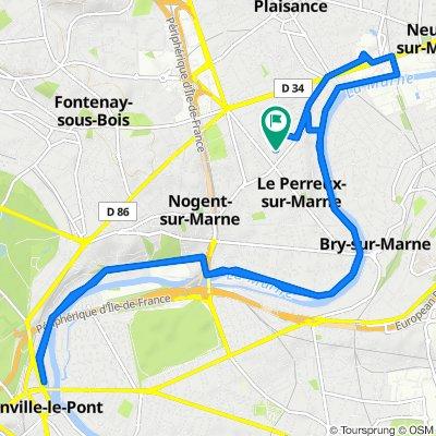 De 11 Rue de la Gaîté, Le Perreux-sur-Marne à 12bis Rue de la Gaîté, Le Perreux-sur-Marne