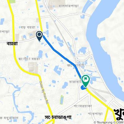 Soto Boyra Masjid Bari Road 1, Khulna to Upper Jessore Road, Khulna