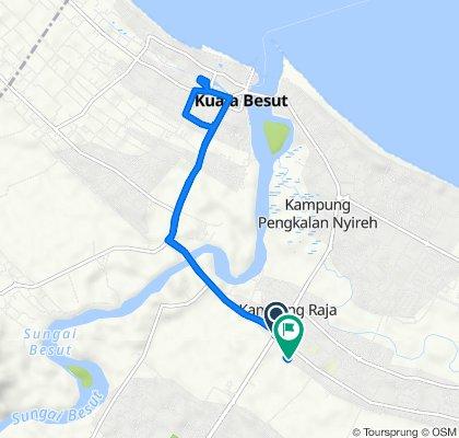 Caltex, Kampung Raja to Jalan Kampung Raja - Kampung Che Salamah, Besut