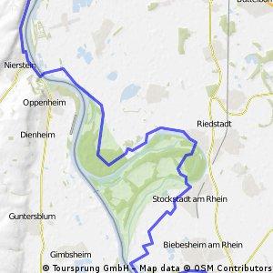 1. Tag Necharsteinach - Gernsheim