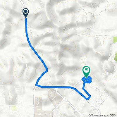 Route from Jalan Parit-Seri Iskandar, Layang-Layang