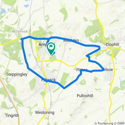 Quick Flitwick and Ampthill loop