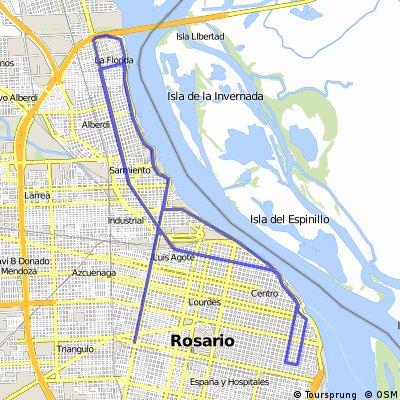 50 km por Rosario City