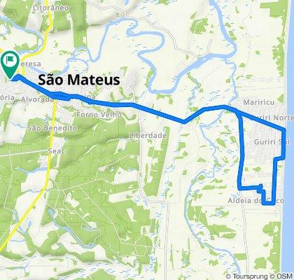 De Rua Mato Grosso 87 a Rua Mato Grosso 87