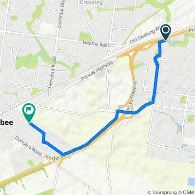 56 Campaspe Way, Point Cook to 28 Wattle Avenue, Werribee