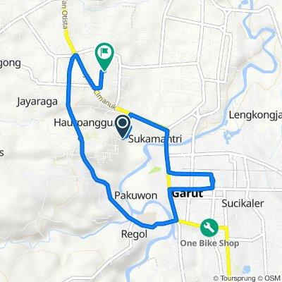 Jayawaras, South Tarogong to Gang Pala 150, Kecamatan Tarogong Kidul