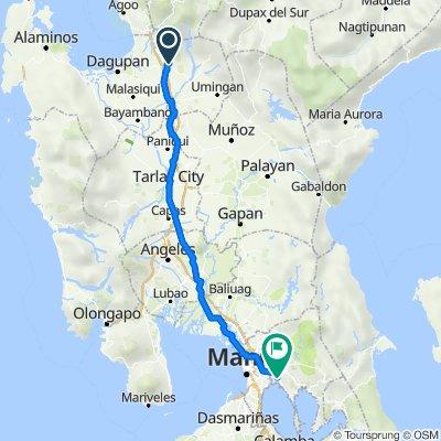 Mangcasuy Road, Binalonan to Radial Road 5, Taytay