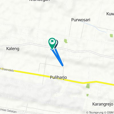 Jalan Puring to Jalan Puring