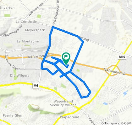 830 Stellenberg Road, Pretoria to 830–836 Stellenberg Road, Pretoria