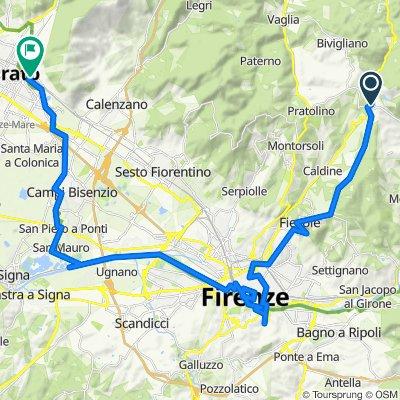 Vetta Le Croci - Fiesole - Firenze - Pratoh