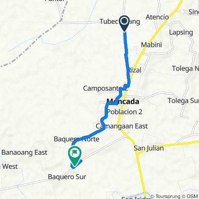 Tubectubang, Moncada to Banaoang Road, Moncada