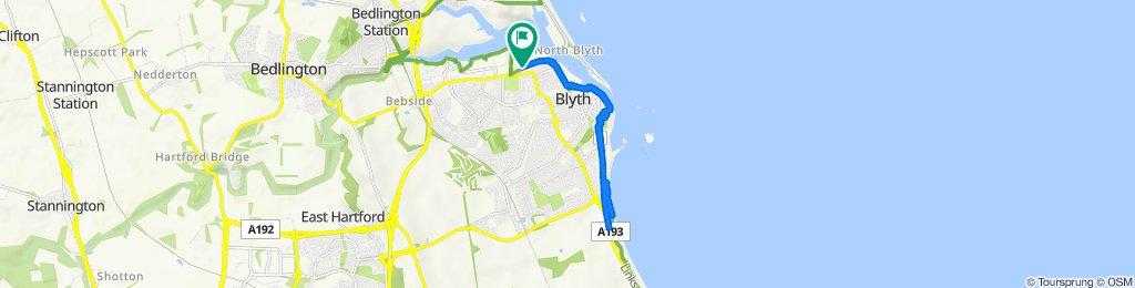 37 Bates Ave, Blyth to 39 Bates Ave, Blyth