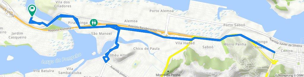De Rua Amaral Neto 321 a Rua Amaral Neto 251
