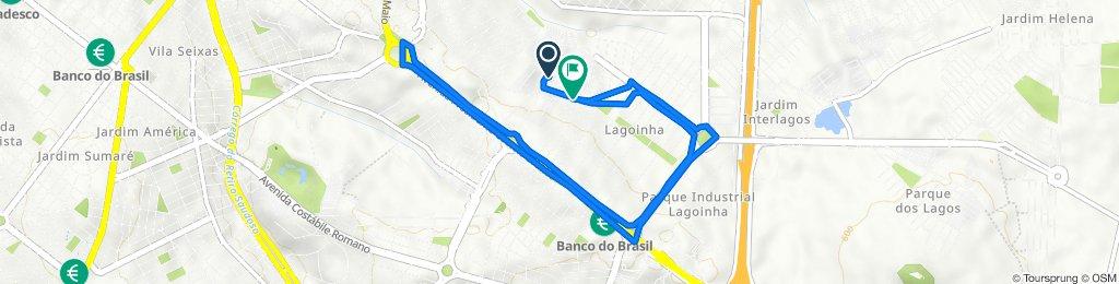 Route to Rua Niterói, 699, Ribeirão Preto