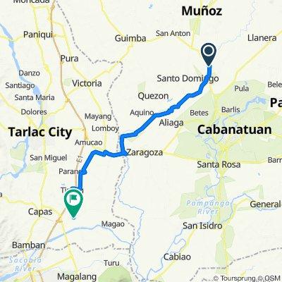 Route to La Paz-Concepcion Road, Concepcion