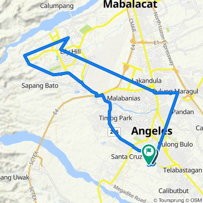 Angeles to Unnamed Road, Angeles
