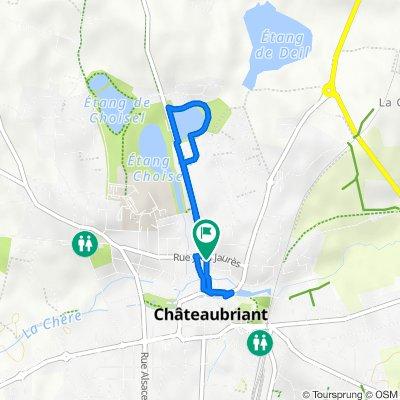 De 4 Rue Guy Môquet, Châteaubriant à 15bis Rue Guy Môquet, Châteaubriant