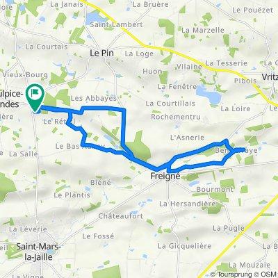 De La Clanchelière, Vallons-de-L'Erdre à La Clanchelière, Vallons-de-L'Erdre