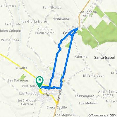 De San Martín 30, Parral a San Martín 24, Parral