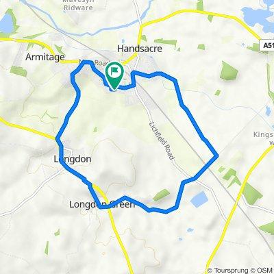 Longdon Ride with Harry