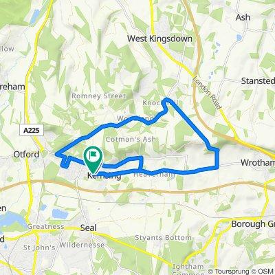 40 West End, Sevenoaks to 50 West End, Sevenoaks