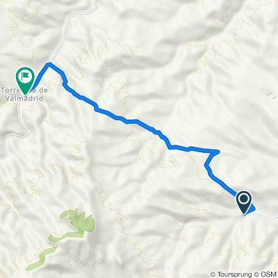 De Camino del Val de Carbonera, Mediana de Aragón a Carretera de la Cartuja a Torrecilla, Zaragoza