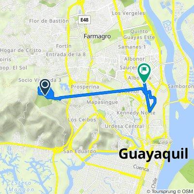 De Via a Marítima, Guayaquil a José María Roura Oxandaberro 43, Guayaquil