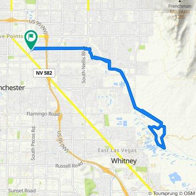 East Saint Louis Avenue 1, Las Vegas to East Saint Louis Avenue 1, Las Vegas