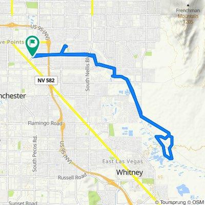East Saint Louis Avenue 38, Las Vegas to East Saint Louis Avenue 33, Las Vegas