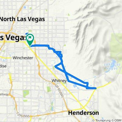 East Saint Louis Avenue 1, Las Vegas to East Saint Louis Avenue 33, Las Vegas