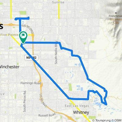 East Saint Louis Avenue 33, Las Vegas to East Saint Louis Avenue 38, Las Vegas