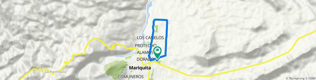 Ruta moderada en Mariquita