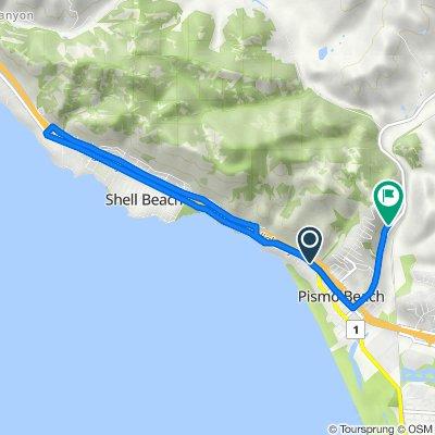 390 Harbor View Ave, Pismo Beach to 1009 Canyon Ln, Pismo Beach