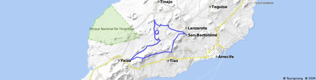 MTB-Tour Quer durch Lava und Wein