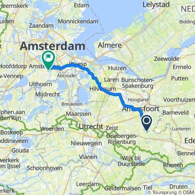 Waterlelie 36, Woudenberg naar Kringloop 473, Amstelveen