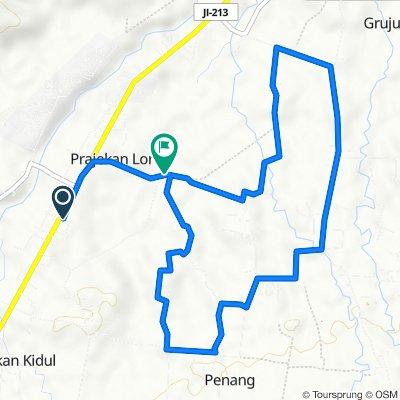 Gang Garuda 2, Prajekan to Jl. Tarum, Prajekan