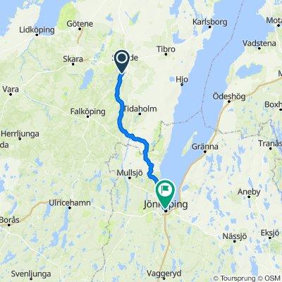 Skövdevägen 39A, Skövde to Västra Storgatan 16, Jönköping