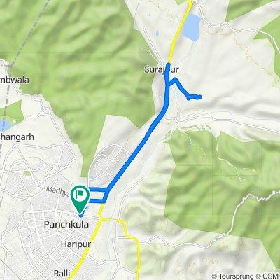 Panchkula-Amravati-Ghaggar-Panchkula