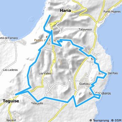 MTB-Tour Risco de Famara und Valle del Palomo